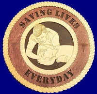 Laser Pics and Gifts: CPR-EMT Professional Plaque - Laser Pics & Gifts
