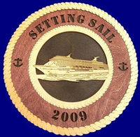 Laser Pics and Gifts: CRUISE SHIP Professional Plaque - Laser Pics & Gifts