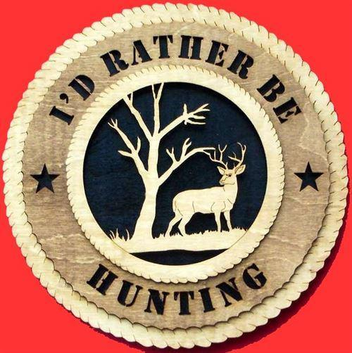 Laser Pics and Gifts: DEER Plaque - Laser Pics & Gifts