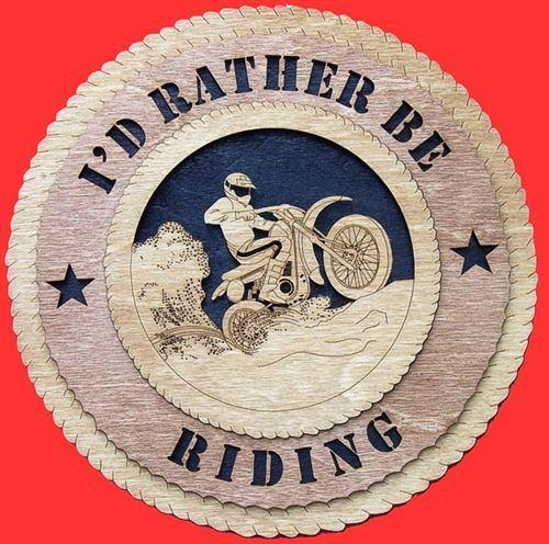 Laser Pics and Gifts: DIRT BIKE Plaque - Laser Pics & Gifts