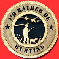 Laser Pics and Gifts:  DUCK HUNTER Plaque - Laser Pics & Gifts