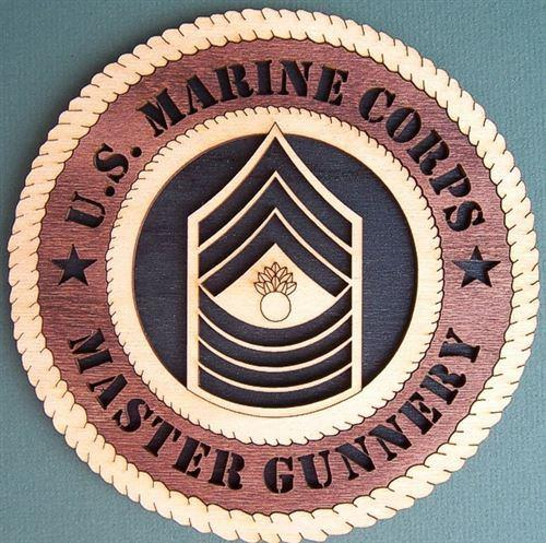 Laser Pics and Gifts: E-9 MASTER GUNNERY Military Plaque - Laser Pics & Gifts