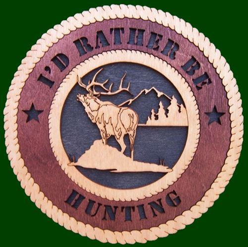 Laser Pics and Gifts: ELK Plaque - Laser Pics & Gifts