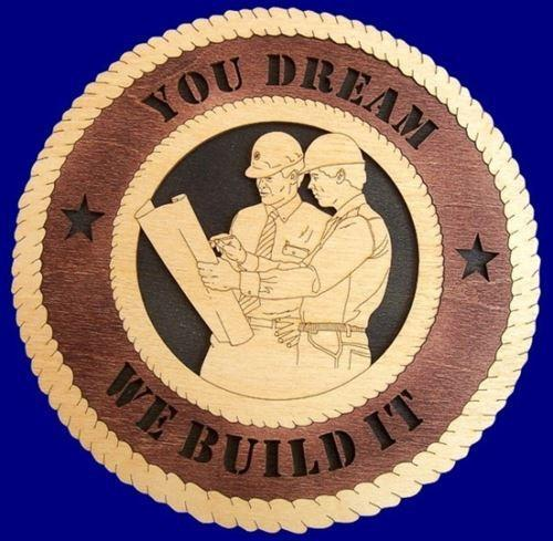 Laser Pics and Gifts: ENGINEER - ARCHITECT Professional Plaque - Laser Pics & Gifts