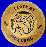 Laser Pics and Gifts:  ENGLISH BULLDOG Dog Plaque - Laser Pics & Gifts