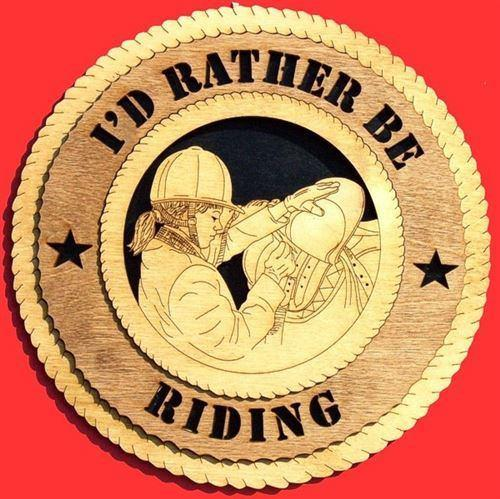 Laser Pics and Gifts:  ENGLISH SADDLE Plaque - Laser Pics & Gifts
