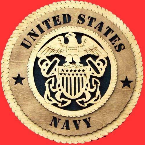 Laser Pics and Gifts:  ENLISTED NAVY Military Plaque - Laser Pics & Gifts