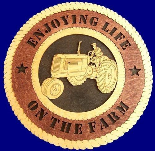 Laser Pics and Gifts:  FARMER Professional Plaque - Laser Pics & Gifts