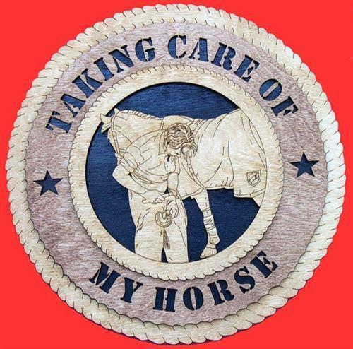 Laser Pics and Gifts:  FARRIER Plaque - Laser Pics & Gifts
