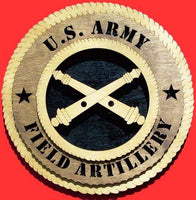 Laser Pics and Gifts: FIELD ARTILLERY Military Plaque - Laser Pics & Gifts