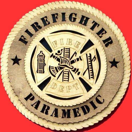 Laser Pics and Gifts: FIREFIGHTER Professional Plaque - Laser Pics & Gifts