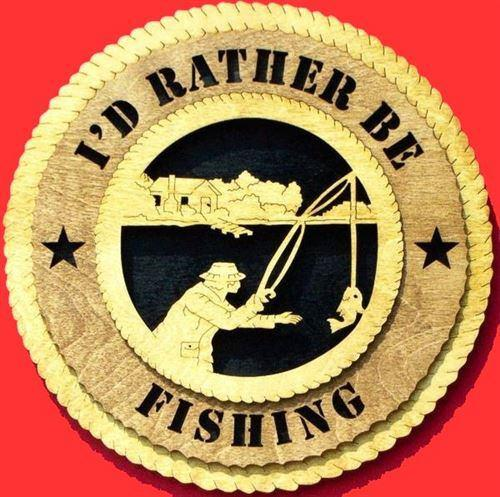 Laser Pics and Gifts: FISHING CABIN Plaque - Laser Pics & Gifts