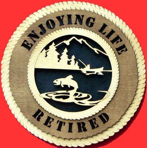 Laser Pics and Gifts: FISHING MOUNTAIN Plaque - Laser Pics & Gifts