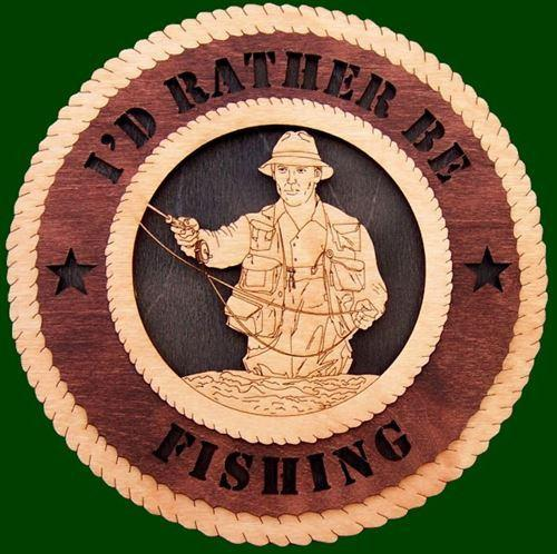 Laser Pics and Gifts: FLY FISHING Plaque - Laser Pics & Gifts