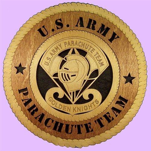 Laser Pics and Gifts: GOLDEN KNIGHTS Military Plaque - Laser Pics & Gifts