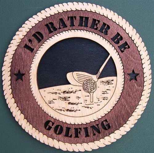 Laser Pics and Gifts: GOLF Plaque - Laser Pics & Gifts