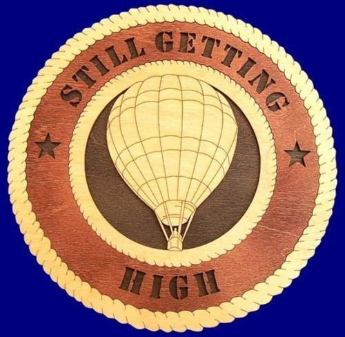 "Laser Pics and Gifts: 12"" HOT AIR BALLOON PILOT Professional Plaque - Laser Pics & Gifts"