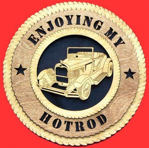Laser Pics and Gifts: HOT ROD Plaque - Laser Pics & Gifts