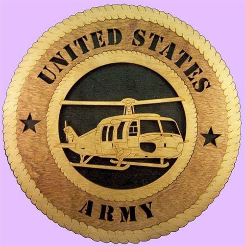 Laser Pics and Gifts: HUEY HELICOPTER Military Plaque - Laser Pics & Gifts