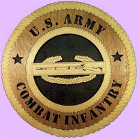 "Laser Pics and Gifts: 12"" INFANTRY Military Plaque - Laser Pics & Gifts"