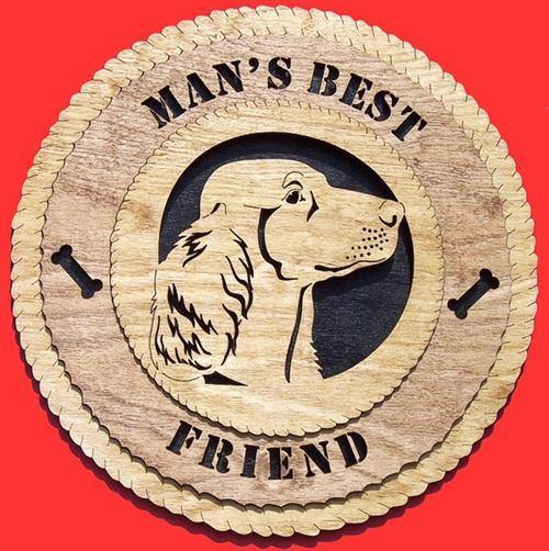 Laser Pics and Gifts: IRISH SETTER Dog Plaque - Laser Pics & Gifts