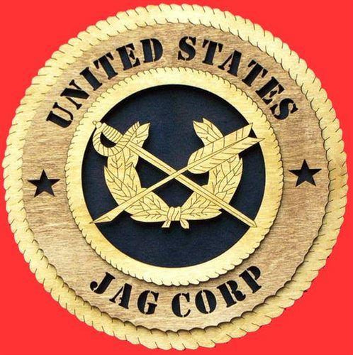 Laser Pics and Gifts: JAG CORPS Military Plaque - Laser Pics & Gifts