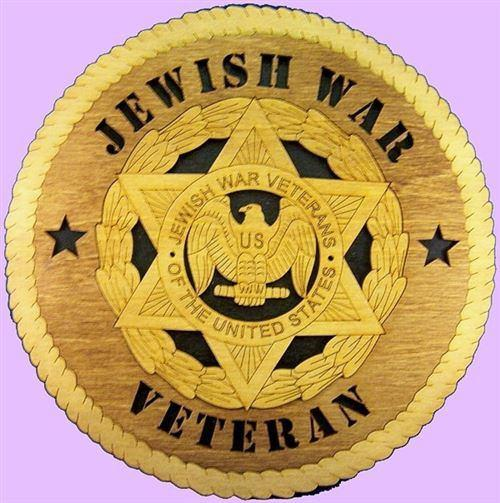 Laser Pics and Gifts: JEWISH WAR VETERAN Military Plaque - Laser Pics & Gifts