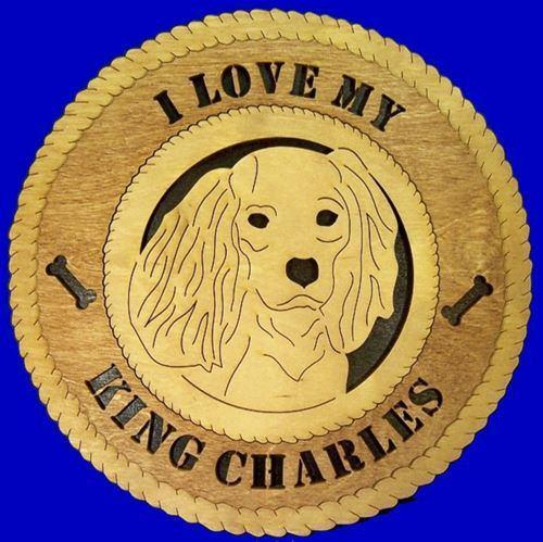 Laser Pics and Gifts:  KING CHARLES SPANIEL Dog Plaque - Laser Pics & Gifts
