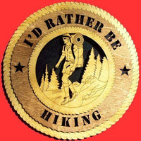 Laser Pics and Gifts: MALE HIKER Plaque - Laser Pics & Gifts