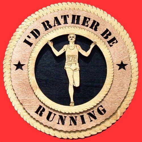 Laser Pics and Gifts: MALE RUNNER Plaque - Laser Pics & Gifts