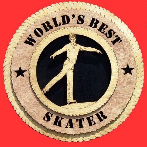 Laser Pics and Gifts: MALE SKATER Plaque - Laser Pics & Gifts