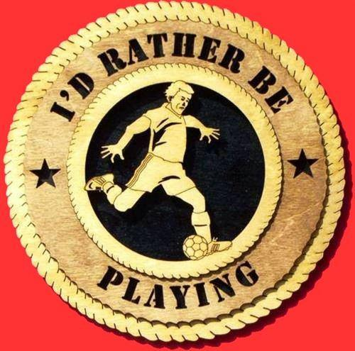 Laser Pics and Gifts: MALE SOCCER Plaque - Laser Pics & Gifts