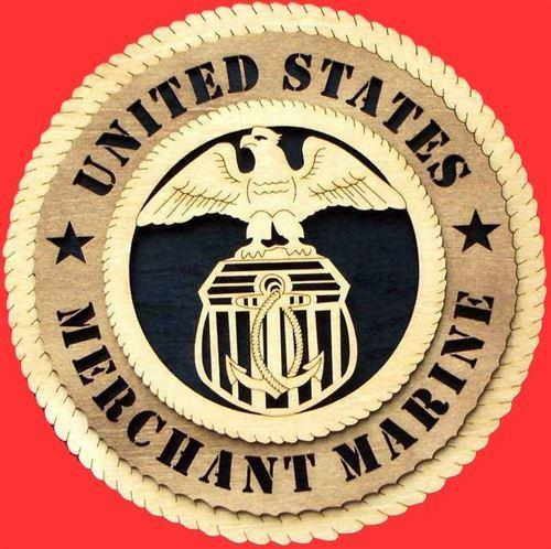 Laser Pics and Gifts: MERCHANT MARINE Military Plaque - Laser Pics & Gifts