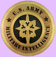 Laser Pics and Gifts: Military INTELLIGENCE Military Plaque - Laser Pics & Gifts