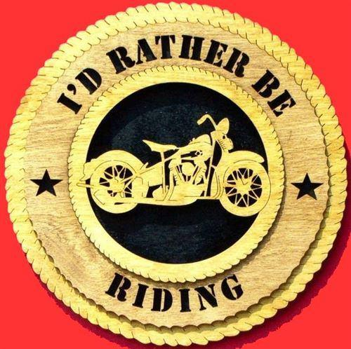 Laser Pics and Gifts: MOTORCYCLE Plaque - Laser Pics & Gifts