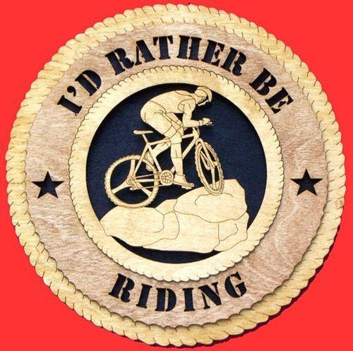 Laser Pics and Gifts: MOUNTAIN BIKER Plaque - Laser Pics & Gifts