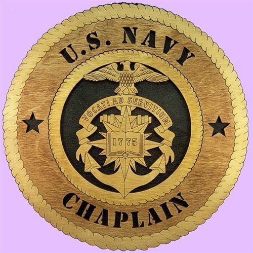 Laser Pics and Gifts: NAVY CHAPLAIN Military Plaque - Laser Pics & Gifts