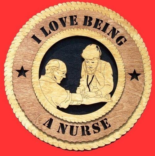 Laser Pics and Gifts:  Nurse Professional Plaque - Laser Pics & Gifts