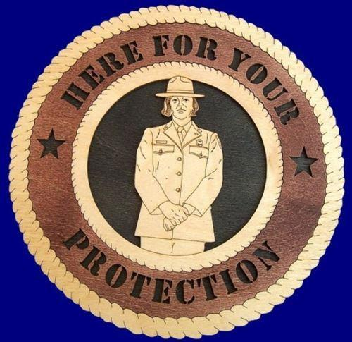 Laser Pics and Gifts: PARK RANGER Professional Plaque - Laser Pics & Gifts