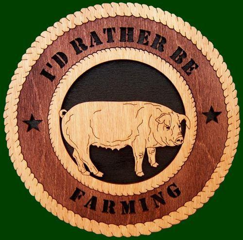 Laser Pics and Gifts: PIG Plaque - Laser Pics & Gifts