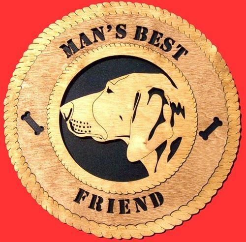 POINTER Dog Plaque