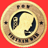 POW-MIA Military Plaque