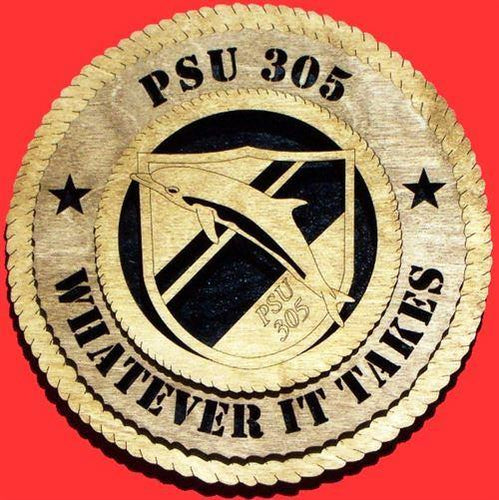 PSU 305 Military Plaque