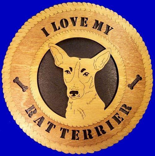 RAT-TERRIER Dog Plaque