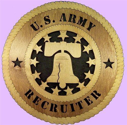 RECRUITER Military Plaque