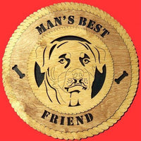"Laser Pics and Gifts: 12"" ROTTWEILER Dog Plaque - Laser Pics & Gifts"