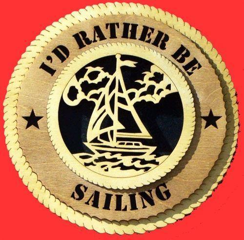 Laser Pics and Gifts:  SAILING Plaque - Laser Pics & Gifts
