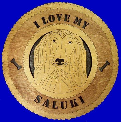SALUKI Dog Plaque