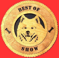 Laser Pics and Gifts:  SAMOYED Dog Plaque - Laser Pics & Gifts