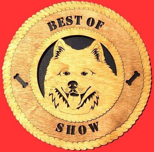 SAMOYED Dog Plaque